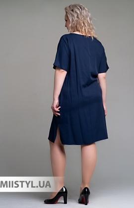 Платье Macca 9S808-B Темно-синий