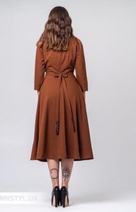 Платье Mira Mia 20k6094 Терракотовый