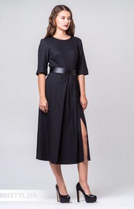 Платье Miss Lilium M20K10813 Темно-серый