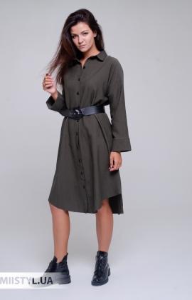 Платье La Julyet 6680 Хаки