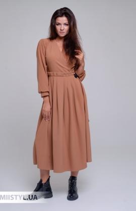 Платье La Julyet 6681 Кемел