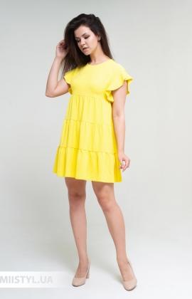 Платье Nikolo Polini 3093 Желтый