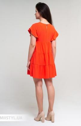 Платье Nikolo Polini 3093 Коралловый
