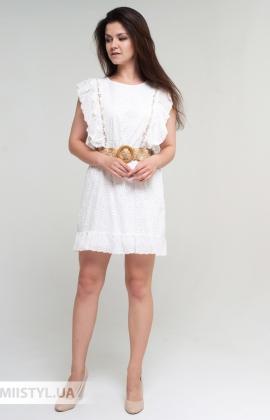 Платье Mahoy F323 Белый