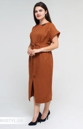 Платье Nikolo Polini 3086 Каштановый