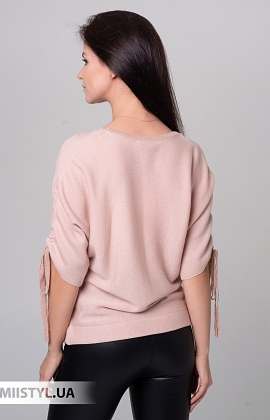 Блуза Serianno 10C6108 Пудра/Люрекс