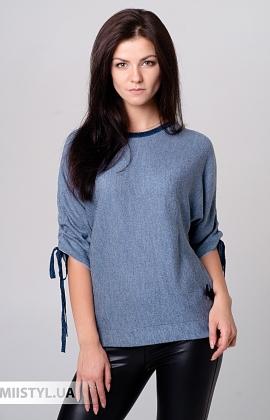 Блуза Serianno 10C6108 Синий/Люрекс