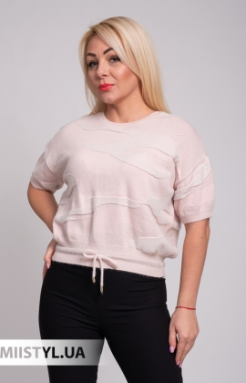 Блуза BIZE Fashion 19K259 Черный/Серый/Принт