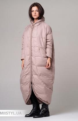 Пальто Moda p 8920 (п) Бежевый