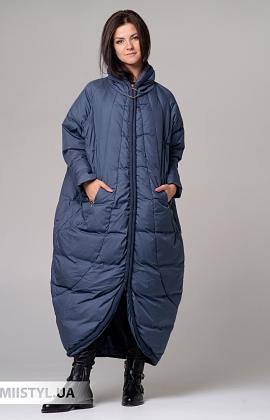 Пальто Moda p 8920 (п) Джинсовый
