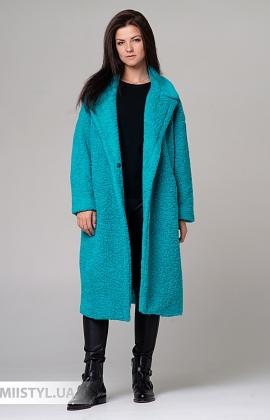 Пальто Imperial KF45YIK Бирюзовый
