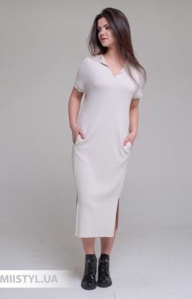 Платье Serianno ELB1668 Молочный/Люрекс