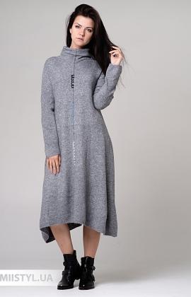 Платье Louise Orop L9-8341 Серый
