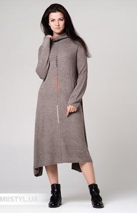 Платье Louise Orop L9-8341 Бежевый