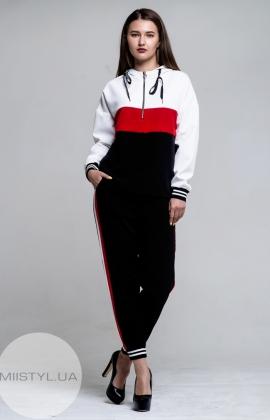 Костюм Ljve LD0009P/F Черный/Красный