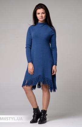 Платье Barbara Aluisi 0926.59 Джинсовый
