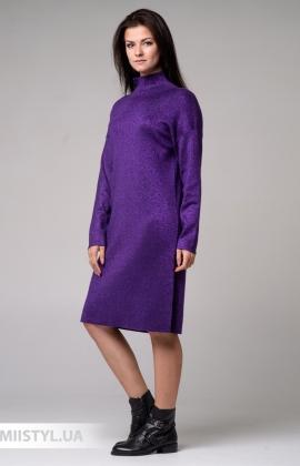 Платье Beauty Women FF 0551 Фиолетовый/Люрекс