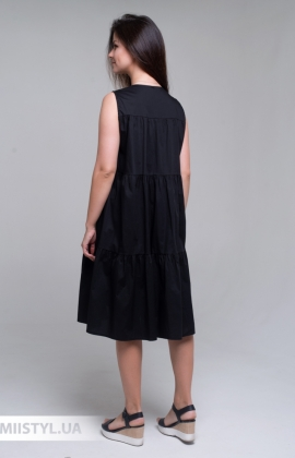 Платье Lumina L1473 Черный