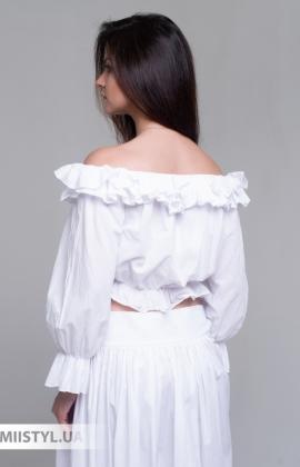 Блуза Lumina L1661 Белый