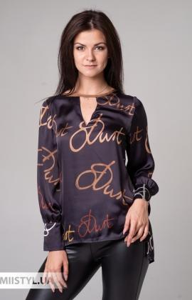 Блуза Paquito 9221 Черный/Принт