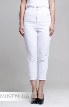Брюки Miss Bonbon H7999-1 Белый
