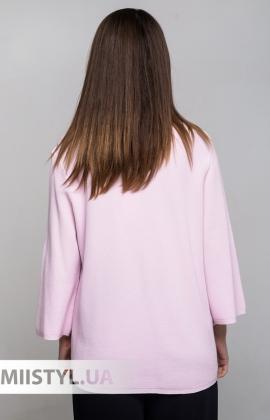 Джемпер короткий рукав HZ 6044 Розовый