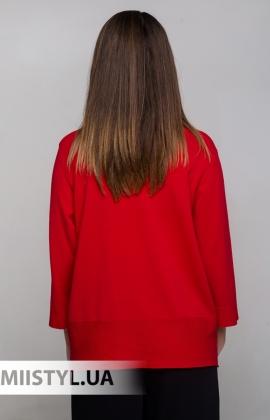 Джемпер короткий рукав HZ 6037 Красный