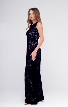 Платье Rica Mare RM871-1-16VV Темно-Синий