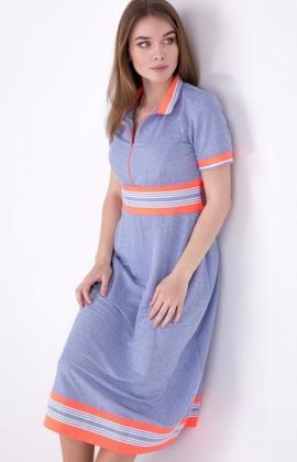 Платье RMD1981-19DD Голубой