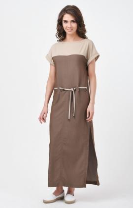 Платье RM1815-18DD Бежевый
