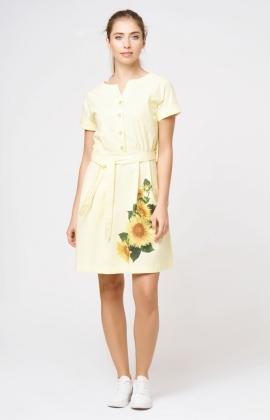 Платье RM1163-18DD Желтый