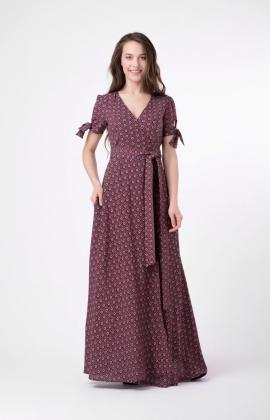 Платье RM1803-18DD Бордовый