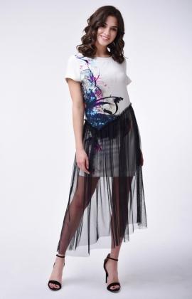 Платье RM1832-1-18DD Черный