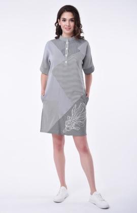 Платье RM1166-18DD Черный