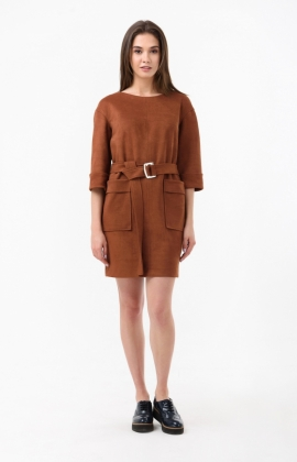 Платье RM1866-18DD Коричневый
