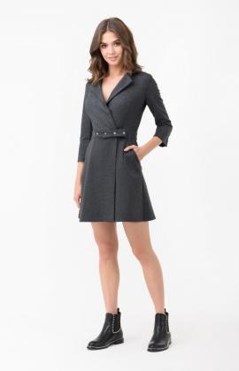Платье RM1892-18DD Серый