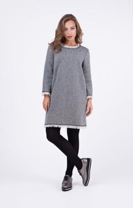 Платье RM1897-18DD Серый