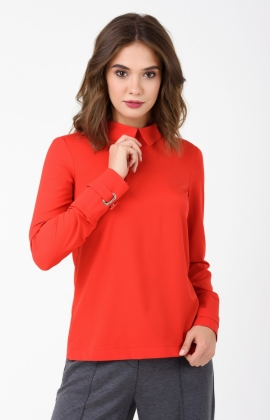 Блуза RM1861-18DB Красный