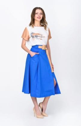 Юбка RM1951-19DU Синий