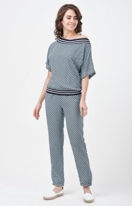 Костюм RM1676-1-17DS Темно-синий/Синий