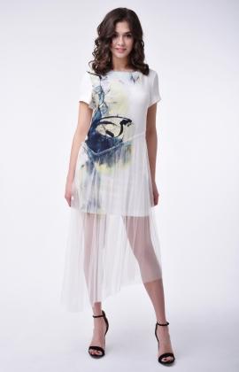 Платье RM1832-1-18DD Молочный