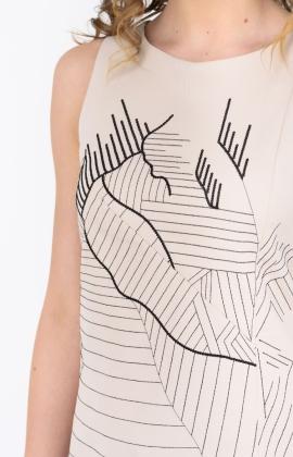 Платье RMD1278-19VC Бежевый