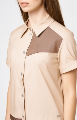 Платье RM1827-18DD Бежевый