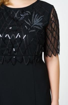 Платье RM1157-B-18VC Черный