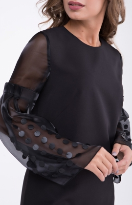 Платье RM1244-18VC Черный
