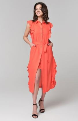 Платье RM1857-18DD Коралловый