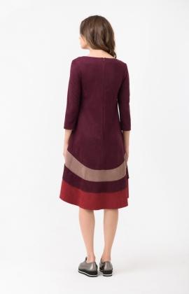 Платье RM1764-17DD Бордовый