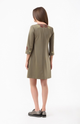 Платье RM1218-18DD Хаки