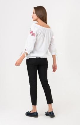 Блуза RM164-1-18DB Бордовый