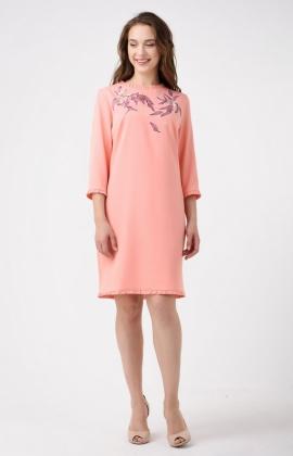 Платье RM1147-18DD Персиковый